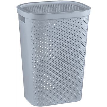 Curver Koš na špinavé prádlo INFINITY 59L - šedý - Koš na prádlo