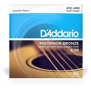Daddario EJ16 Phosphor Bronze Light - .012 - .053 - Struny