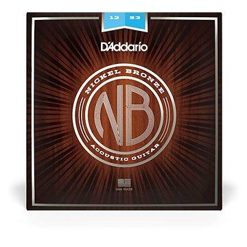 Daddario NB1253 Nickel Bronze Acoustic Light - Struny