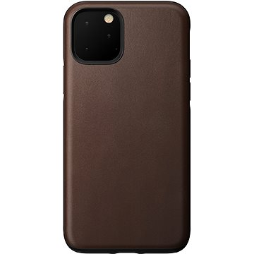 Nomad Rugged Leather Case Brown iPhone 11 Pro - Kryt na mobil