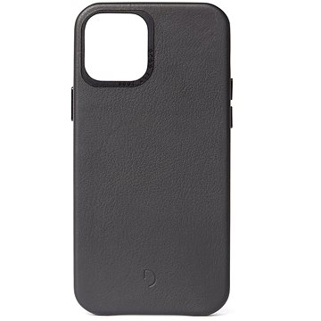Decoded Backcover Black iPhone 12 Pro Max - Kryt na mobil