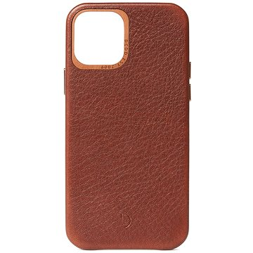 Decoded Backcover Brown iPhone 12 Pro Max - Kryt na mobil