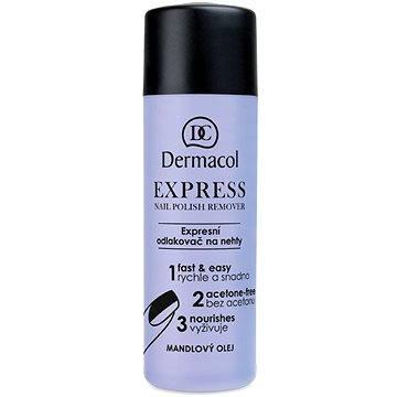 DERMACOL Express Nail Polish Remover 120 ml - Odlakovač na nehty