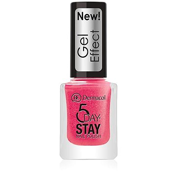 DERMACOL 5 Days Stay Gel Effect Nail Polish No.29 Burlesque 12 ml - Lak na nehty