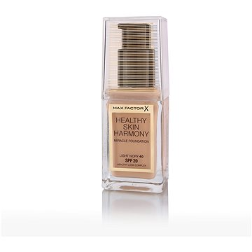 MAX FACTOR Healthy Skin Harmony Miracle Foundation SPF20 40 Light Ivory 30 ml - Make-up