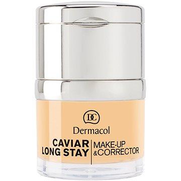 DERMACOL Caviar Long Stay Make-Up & Corrector No.0,5 Sand 30 ml - Make-up