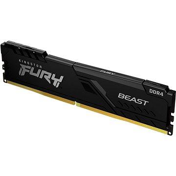 Kingston FURY 8GB DDR4 2666MHz CL16 Beast Black - Operační paměť