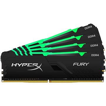 HyperX 64GB KIT DDR4 2400MHz CL15 FURY RGB series - Operační paměť