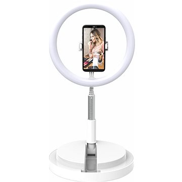 """Digipower Invisilight 11"""" Foldable Ring Light - Držák na mobilní telefon"""