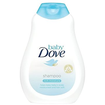 BABY DOVE Rich Moisture šmpon 400 ml - Dětský šampon
