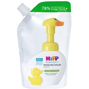 HiPP Babysanft Pěna na mytí Kachna náhradní náplň 250 ml - Dětská pěna do koupele