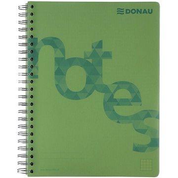 DONAU A4, 80 listů, zelený - Poznámkový blok