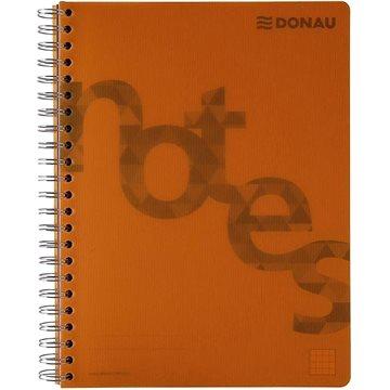 DONAU A4, 80 listů, oranžový - Poznámkový blok