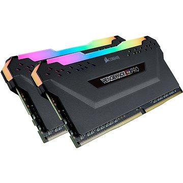Corsair 32GB KIT DDR4 3600MHz CL18 Vengeance RGB PRO černá - Operační paměť