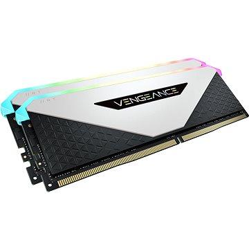 Corsair 64GB KIT DDR4 3200MHz CL16 Vengeance RGB RT White - Operační paměť