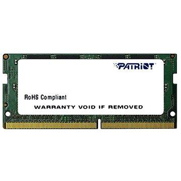 Patriot SO-DIMM 8GB DDR4 2400MHz CL17 Signature Line - Operační paměť