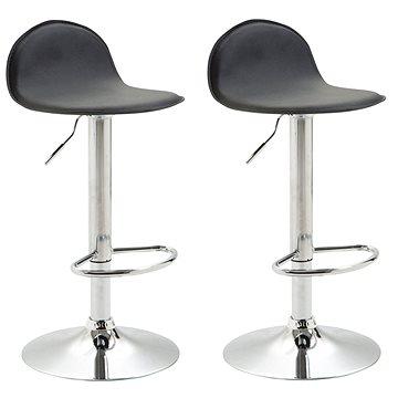 Barová židle Lane (SET 2 ks), černá - Barová židle