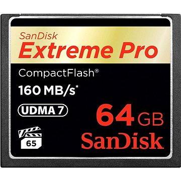 SanDisk Compact Flash 64GB 1000x Extreme Pro - Paměťová karta
