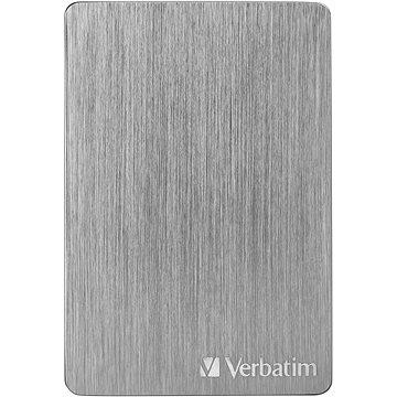 VERBATIM Store´n´ Go ALU Slim 1TB, vesmírně šedý - Externí disk