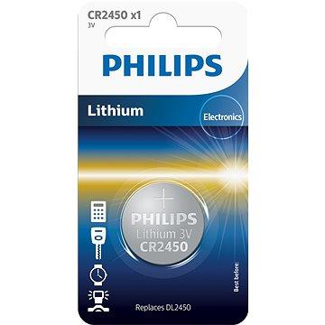 Philips CR2450 1 ks v balení - Knoflíková baterie