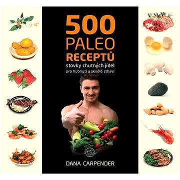 500 paleo receptů - Elektronická kniha