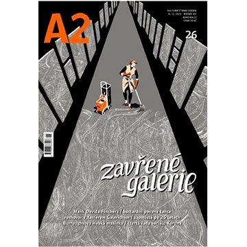 A2 kulturní čtrnáctideník 26/2020 - Zavřené galerie - Elektronická kniha
