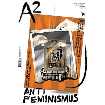A2 kulturní čtrnáctideník 14/2020 - Antifeminismus - Elektronická kniha