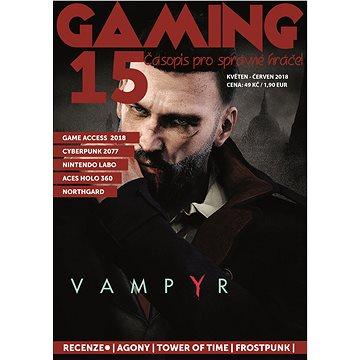 GAMING 15 - Elektronická kniha