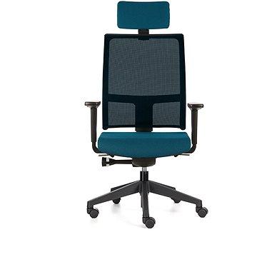 EMAGRA TAU modrá - Kancelářská židle