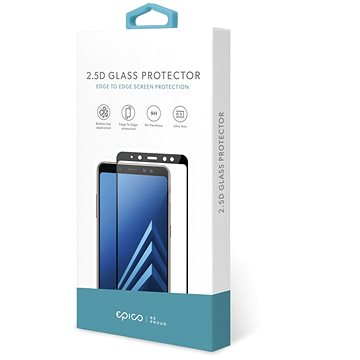 Epico Glass 2.5D pro Huawei Mate 20X - černé - Ochranné sklo