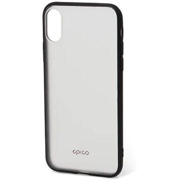 Epico Frost pro iPhone X transparentní/černý - Kryt na mobil