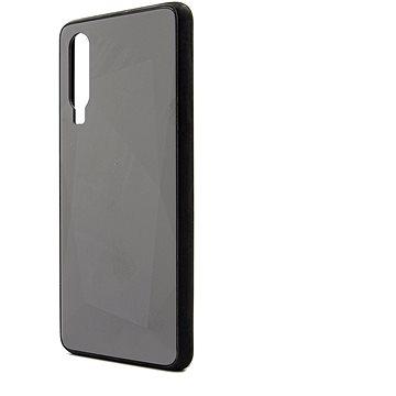 Epico COLOUR GLASS CASE Huawei P30 - černý - Kryt na mobil