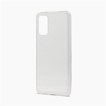 Epico Ronny Gloss Samsung Galaxy S20 - bílý transparentní - Kryt na mobil