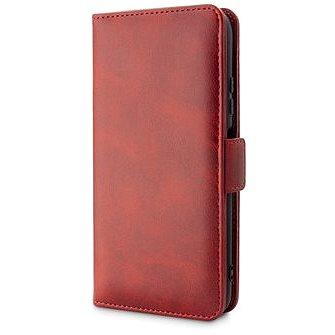 Epico Elite Flip Case Samsung Galaxy A12 - červená - Pouzdro na mobil