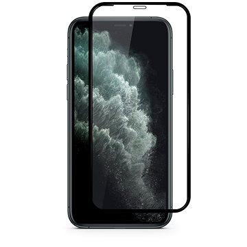 Epico Hero Glass iPhone 12 Pro Max černý - Ochranné sklo