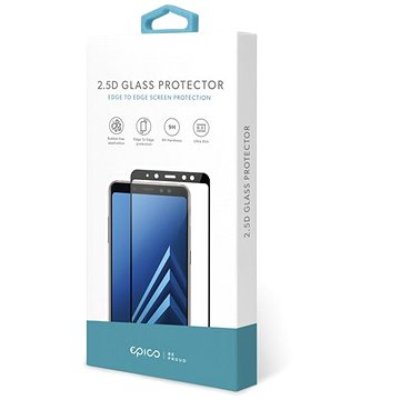 Epico Glass 2.5D pro Samsung Galaxy A12 - černá - Ochranné sklo