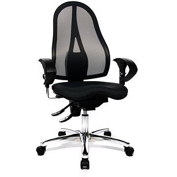 TOPSTAR Sitness 15 černá, složená + ZKUŠEBKA 60 DNŮ - Kancelářská židle