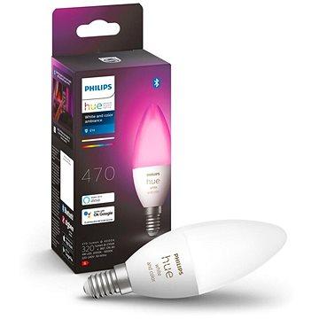 Philips Hue White and Color Ambiance 6,5W E14 - LED žárovka
