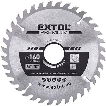 EXTOL PREMIUM 8803215 - Pilový kotouč