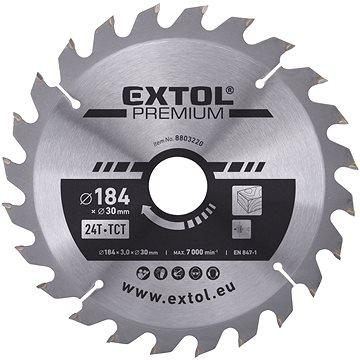 EXTOL PREMIUM 8803220 - Pilový kotouč