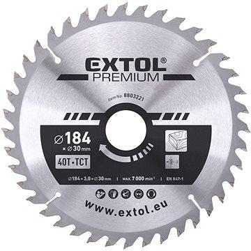 EXTOL PREMIUM 8803221 - Pilový kotouč