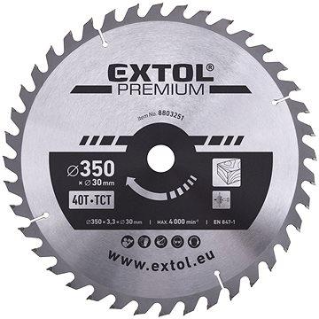 EXTOL PREMIUM 8803251 - Pilový kotouč