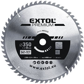 EXTOL PREMIUM 8803252 - Pilový kotouč