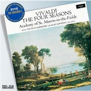 Marriner: Vivaldi The Four Seasons/ Alan Loveday - CD - Hudební CD