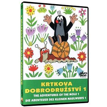 Krtkova dobrodružství 1 - DVD - Film na DVD