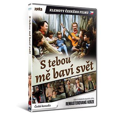 S tebou mě baví svět - edice KLENOTY ČESKÉHO FILMU (remasterovaná verze) - DVD - Film na DVD