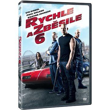 Rychle a zběsile 6 - DVD - Film na DVD