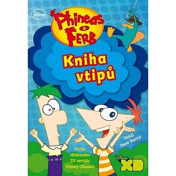Phineas a Ferb Kniha vtipů - Kniha