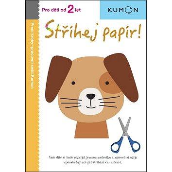 Stříhej papír!: Pro děti od 2 let, Pracovní sešit Kumon - Kniha
