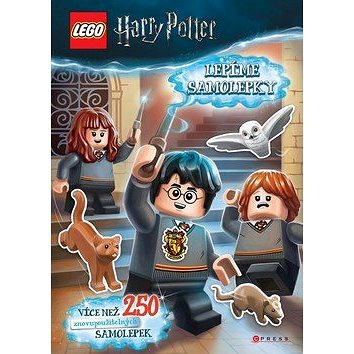 LEGO Harry Potter Lepíme samolepky: Více než 250 samolepek